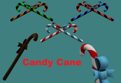Candy Cane Pack [7 Retextures]