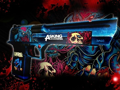 Asking Alexandria Deagle