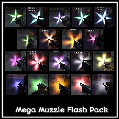 Mega Muzzle Flash Pack