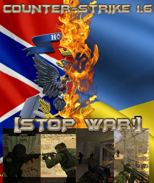 COUNTER-STRIKE 1.6 [STOP WAR!]